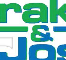 Drake and Josh Sticker