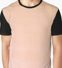 Hand painted coral pink watercolor paint Graphic T-Shirt