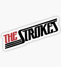 the strokes type Sticker