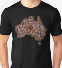 Aboriginal Australia - Authentic Aboriginal Art Unisex T-Shirt