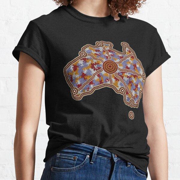 Authentic Aboriginal Art - Aboriginal Australia Classic T-Shirt