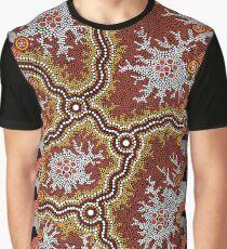 Aboriginal Art Authentic – Travels Graphic T-Shirt