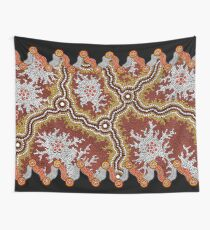 Aboriginal Art Authentic – Travels Wall Tapestry