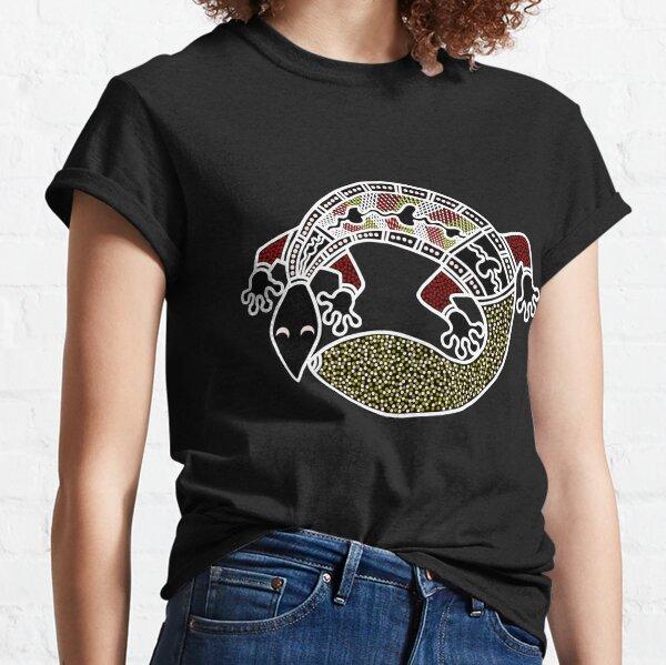 Authentic Aboriginal Art -  The Gecko Classic T-Shirt