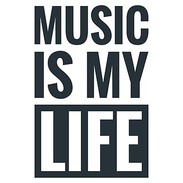 Music is my life  by C4Dart