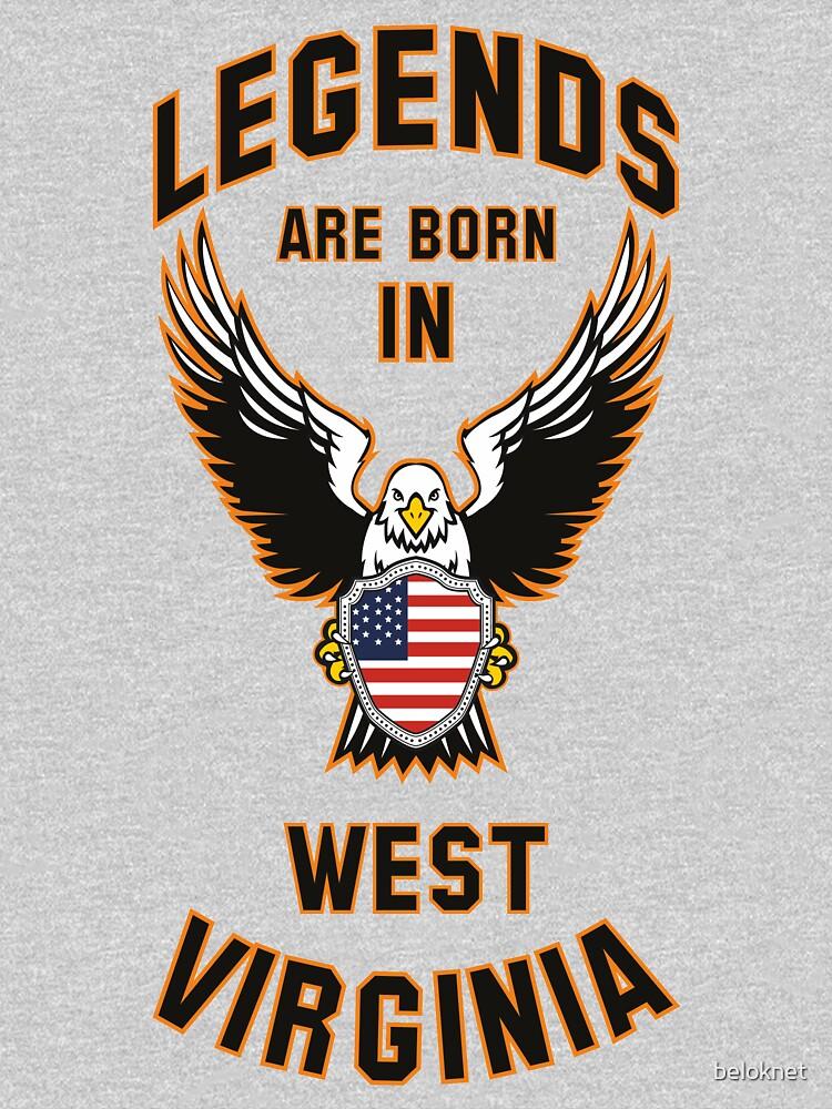 Legends are born in West Virginia by beloknet
