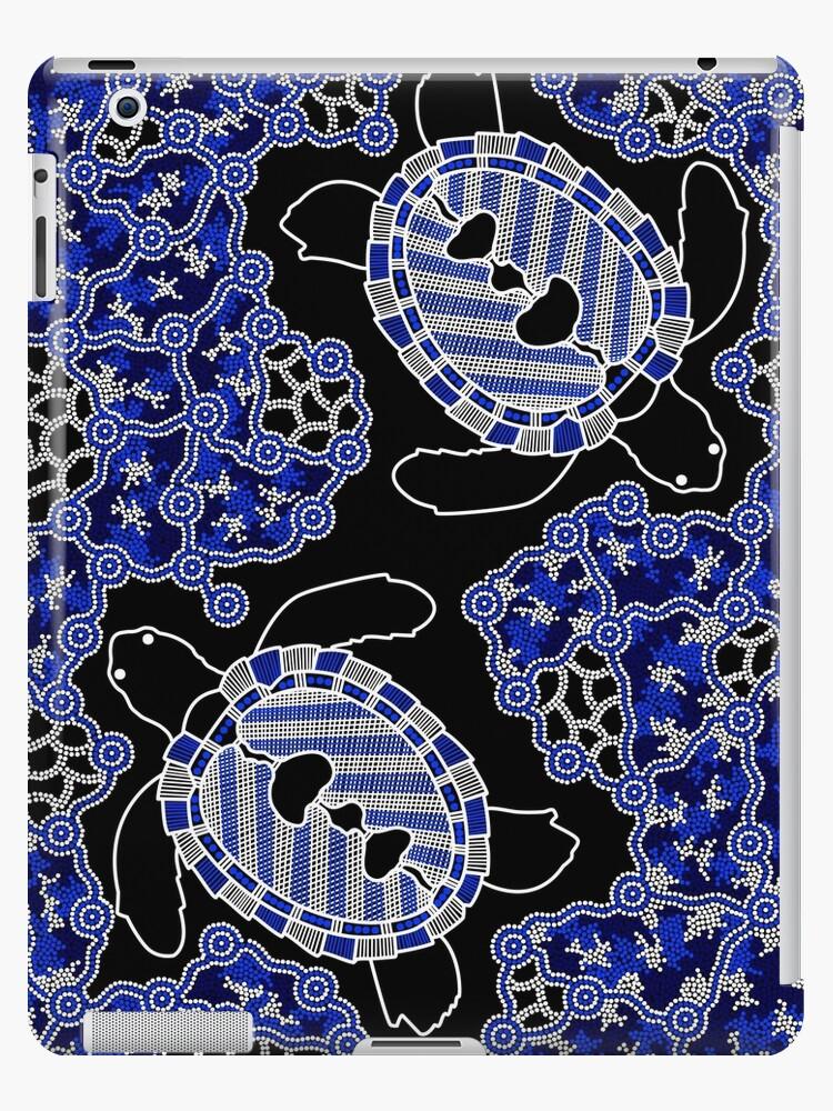 Aboriginal Art Turtles Sea Turtle Dreaming Ipad Cases Skins By