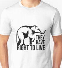 Elephant - animal protection Unisex T-Shirt