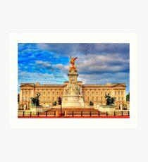 Buckingham Palace Art Print