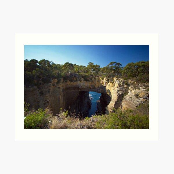 Tasman's Arch near Hobart, Tasmania Art Print