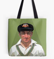 Sir Don Bradman Tote Bag