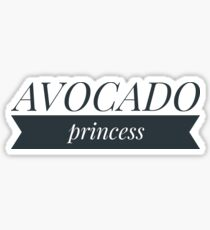 Avocado princess Sticker