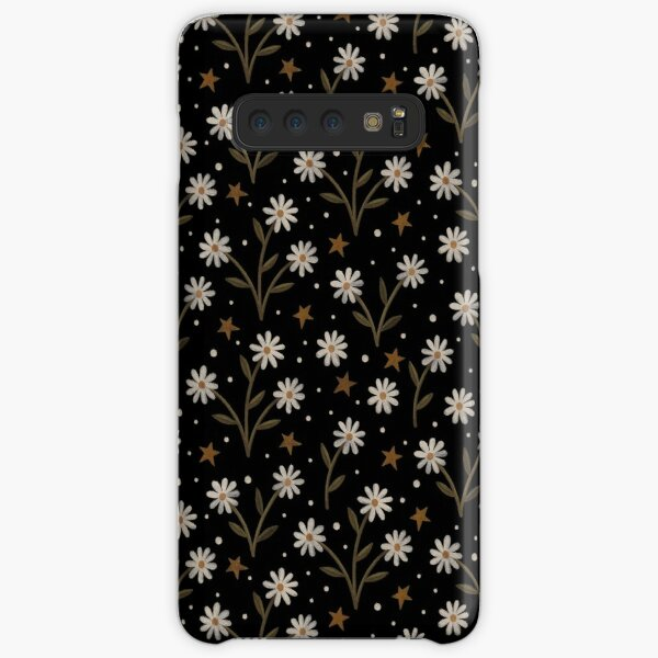 Tiny white flowers Samsung Galaxy Snap Case