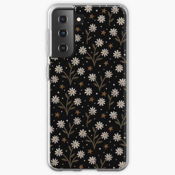 Tiny white flowers Samsung Galaxy Soft Case
