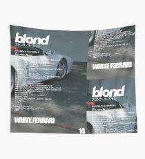 Frank Ocean - White Ferrari Wall Tapestry