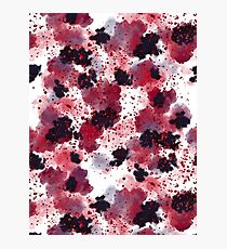 Berries Explosion #redbubble #berries Photographic Print