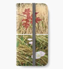 english meadow plants collection iPhone Wallet/Case/Skin