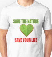 Save Nature Unisex T-Shirt