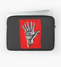Hand six fingers Laptop Sleeve