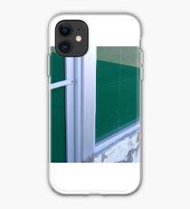 Green Windows, West Oakland Train Station iPhone Case