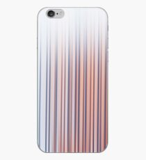 Light abstract gradient motion blurred background. Colorful lines texture wallpaper iPhone Case