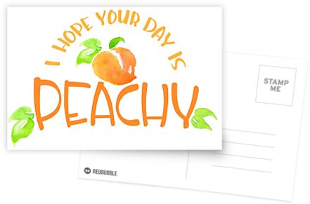 Peachy!  by Chloe Fennell