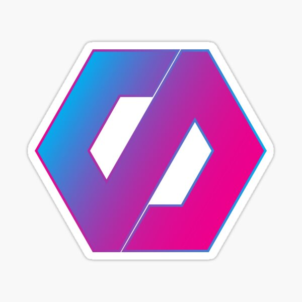 "David Sprinkle's ""DPS"" Logo (My Favorite Gradient Version) Sticker"