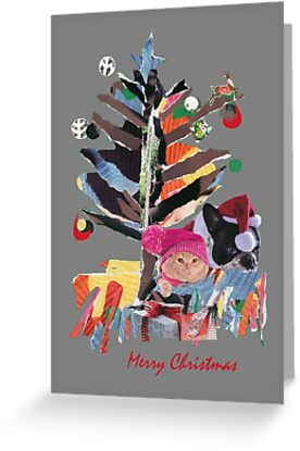 Lovely Christmas family tree by Katerina Collage