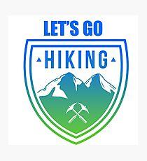 Hiking Photographic Print