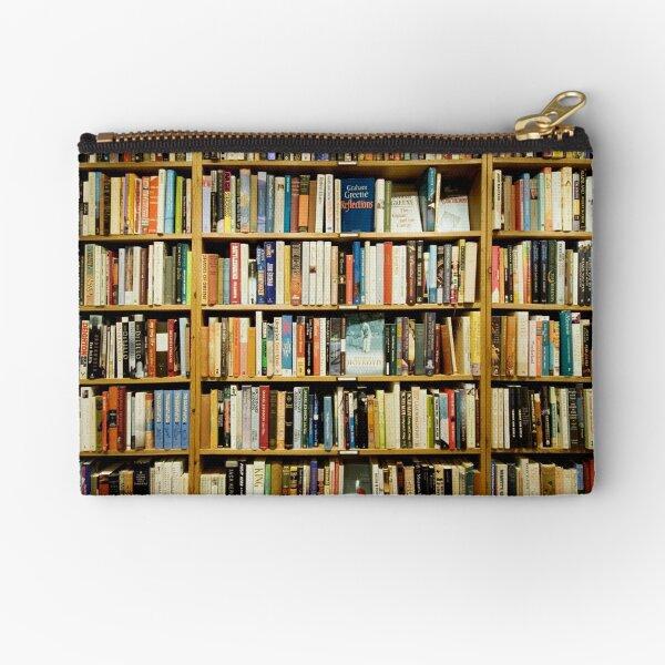 Libraries, where the magic is  Zipper Pouch