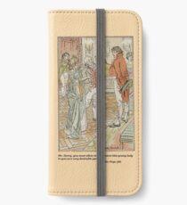 Pride and Prejudice by Jane Austen Illustration iPhone Wallet/Case/Skin