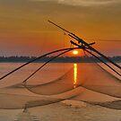Mekong sunset by Adri  Padmos