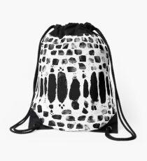 Blox Noir Drawstring Bag