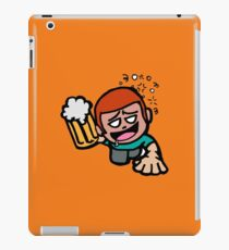 Prost! Funny Party Guy Beer Crawling - Gift Idea iPad Case/Skin