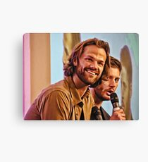 Jared Padalecki and Jensen Ackles - Asylum Con. Canvas Print