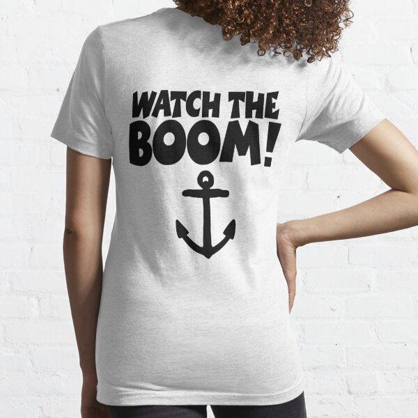 Ship Happens Damen Tank Top Fun Geek Nerd Sailor Sailboat Segler Kapitän