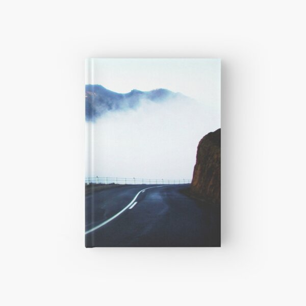 The road to Cradle Top Mountain Hardcover Journal