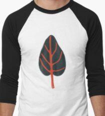 Grey Leaf Men's Baseball ¾ T-Shirt