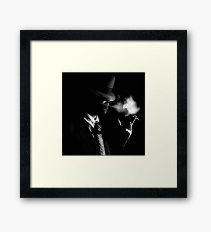 Smoking Framed Print