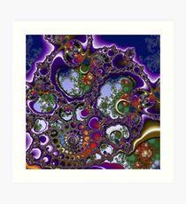 D1G1TAL-M00DZ ~ GALLIMAUFRY ~ Windows by tasmanianartist Art Print