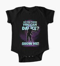 Also du denkst, dass du tanzen kannst? Baby Body Kurzarm