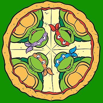 hora de pizza de drtees
