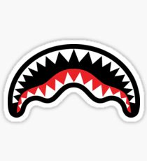 Shark Mouth Stickers Redbubble