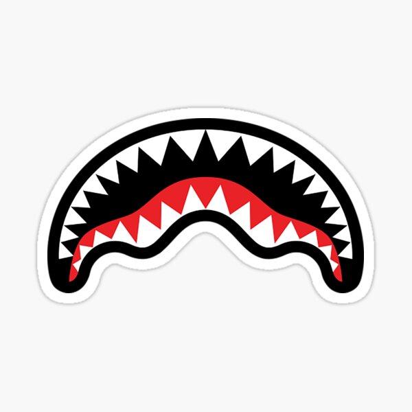 Shark Mouth Sticker