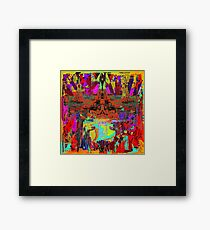 GLOBAL WARMING - Alien Point of View Framed Print