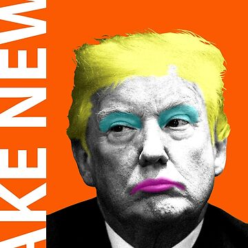Fake News - Orange by garyhogben