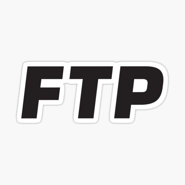 FTP Smiley Logo Sticker