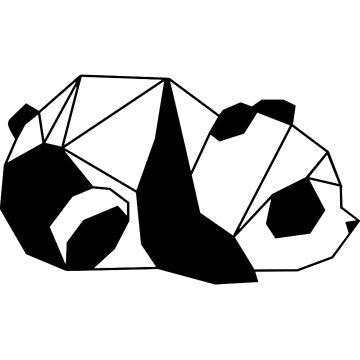 Geometric Panda by ghjura