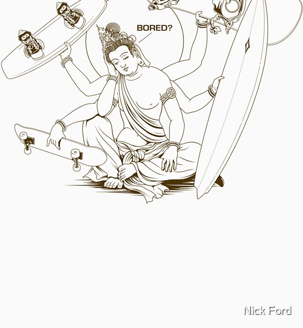Bored? ...... Board! by Nick Ford