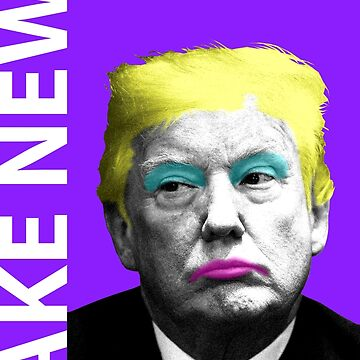 Fake News - Purple by garyhogben